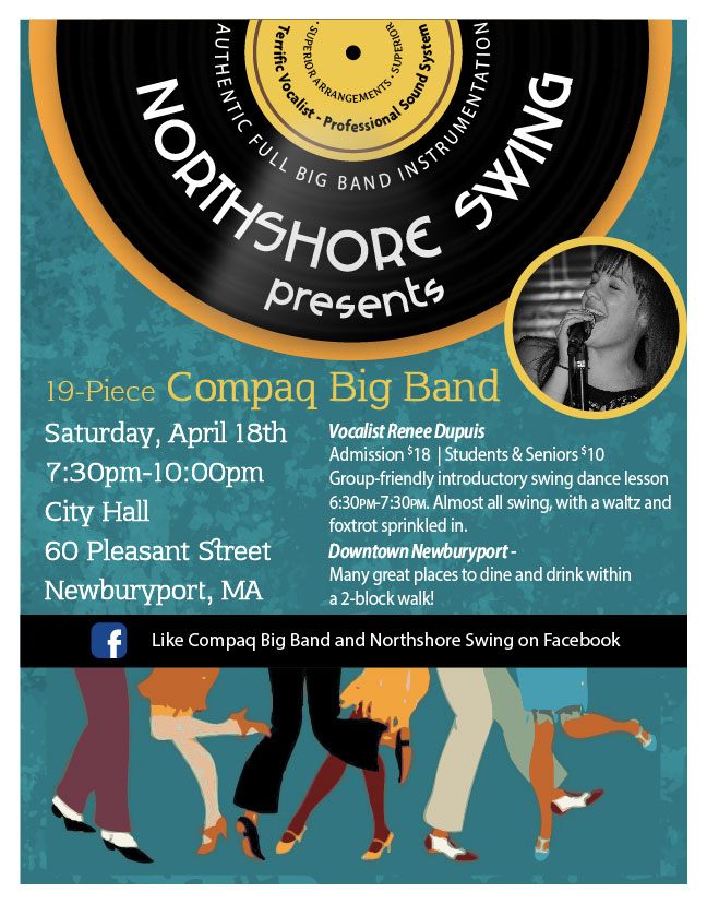 Northshore Swing Dance poster